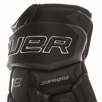 Cuff View (Bauer Supreme 1S Hockey Gloves - 2017 - Senior)