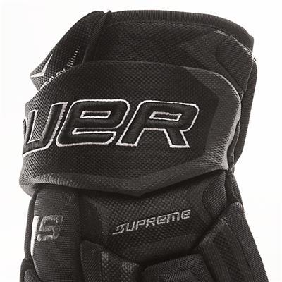 Cuff View (Bauer Supreme 1S Hockey Gloves - 2017 - Junior)