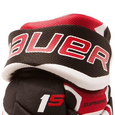 Cuff View (Bauer Supreme 1S Hockey Gloves - 2017)
