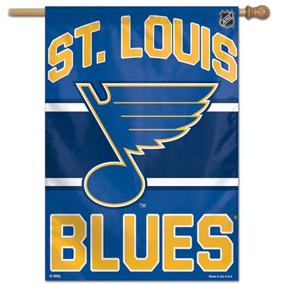 "(Wincraft NHL Vertical Flag - 27"" x 37"" - St. Louis Blues)"