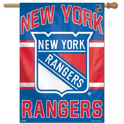 "(Wincraft Wincraft NHL Vertical Flag - 27"" x 37"" - New York Rangers)"