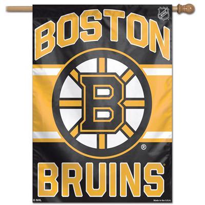"(Wincraft Wincraft NHL Vertical Flag - 27"" x 37"" - Boston Bruins)"