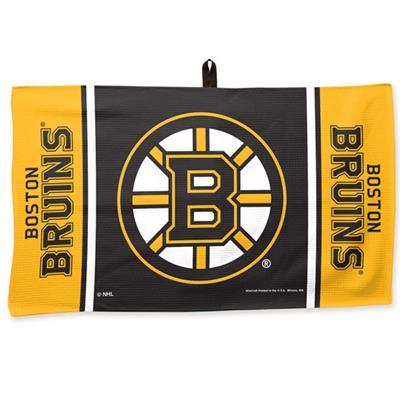"""(Wincraft Wincraft NHL Golf Waffle Towel - 14"""" x 24"""" - Boston Bruins)"""