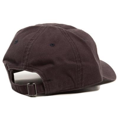 Back View (Pure Hockey Navy/White Strapback Hat)