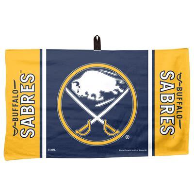 """(Wincraft NHL Golf Waffle Towel - 14"""" x 24"""" - Buffalo Sabres)"""