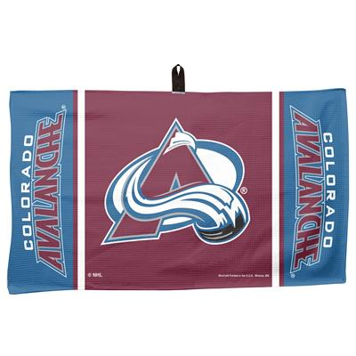 "(Wincraft NHL Golf Waffle Towel - 14"" x 24"" - Colorado Avalanche)"