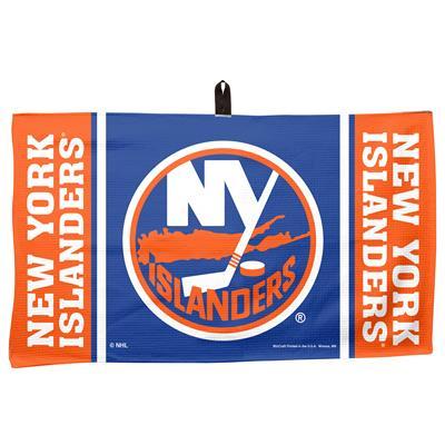 """(Wincraft NHL Golf Waffle Towel - 14"""" x 24"""" - New York Islanders)"""