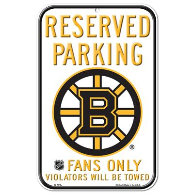 (Wincraft NHL Reserved Parking Sign - Boston Bruins)