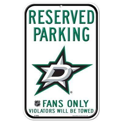 (Wincraft Wincraft NHL Reserved Parking Sign - Dallas Stars)