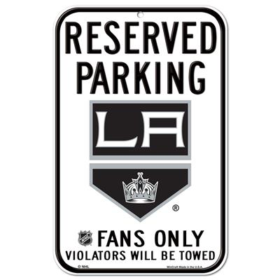 (Wincraft NHL Reserved Parking Sign - Los Angeles Kings)