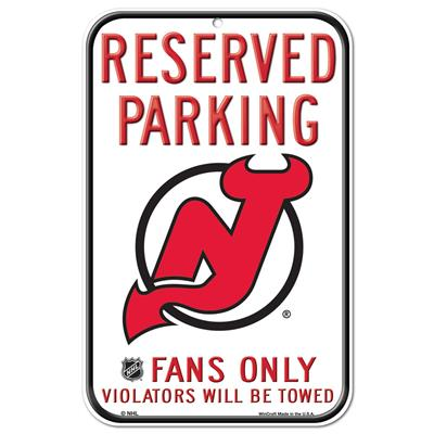 (Wincraft Wincraft NHL Reserved Parking Sign - New Jersey Devils)