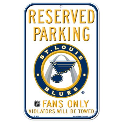 (Wincraft Wincraft NHL Reserved Parking Sign - St. Louis Blues)