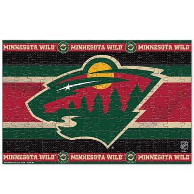 NHL 150PC Puzzle Wild (Wincraft NHL 150 Piece Puzzle - Minnesota Wild)