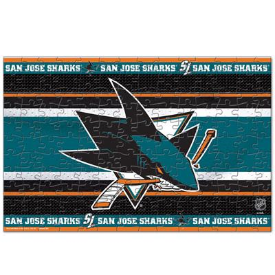 NHL 150PC Puzzle Sharks (Wincraft NHL 150 Piece Puzzle - San Jose Sharks)