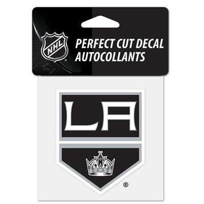 "(Wincraft Wincraft NHL Perfect Cut Color Decal - 4"" x 4"" - Los Angeles Kings)"
