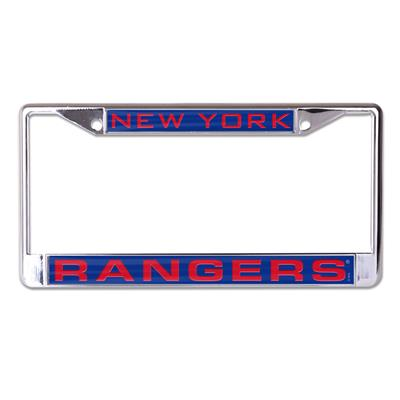 (Wincraft Wincraft NHL Inlaid Metal License Plate Frame - New York Rangers)