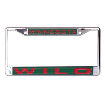 (Wincraft Wincraft NHL Inlaid Metal License Plate Frame - Minnesota Wild)
