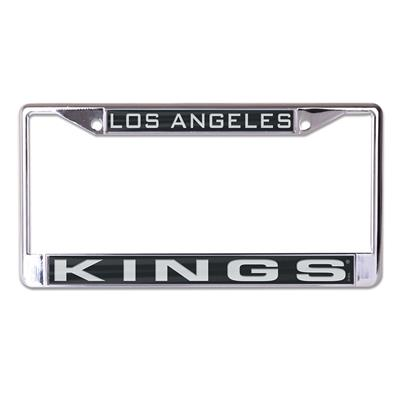 (Wincraft Wincraft NHL Inlaid Metal License Plate Frame - Los Angeles Kings)