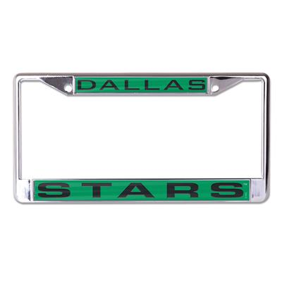 (Wincraft NHL Inlaid Metal License Plate Frame - Dallas Stars)
