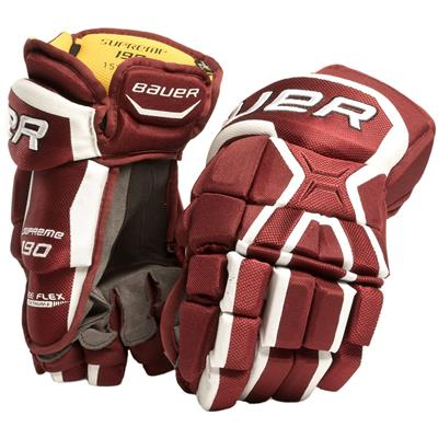 Maroon (Bauer Supreme 190 Gloves)