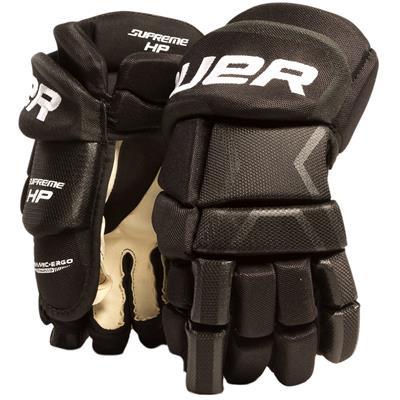 Black (Bauer Supreme HP Hockey Gloves)