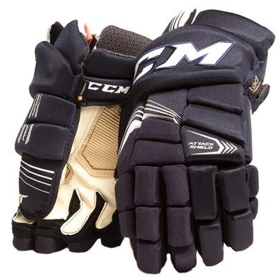 Navy (CCM Super Tacks Hockey Gloves)