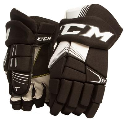 Black/White (CCM Tacks 3092 Hockey Gloves)