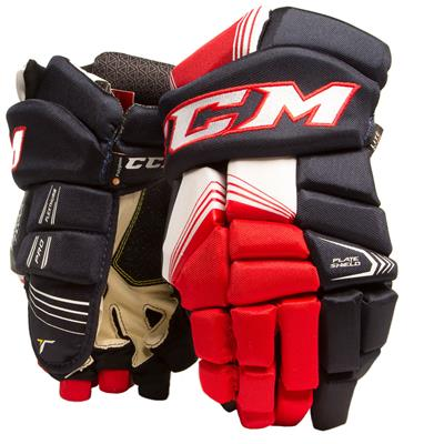 Navy/Red/White (CCM Tacks 7092 Hockey Gloves - Junior)