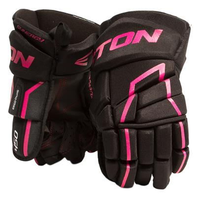 Black/Pink (Easton Synergy 450 Hockey Gloves)