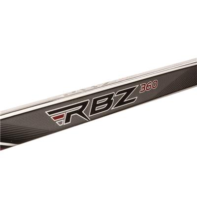 Shaft View (CCM RBZ 360 Grip Composite Hockey Stick)