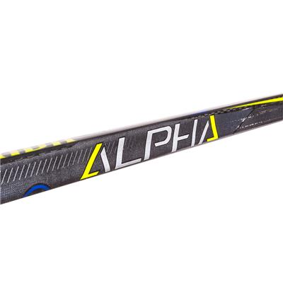 Shaft View (Warrior Alpha QX Pro Grip Composite Hockey Stick)