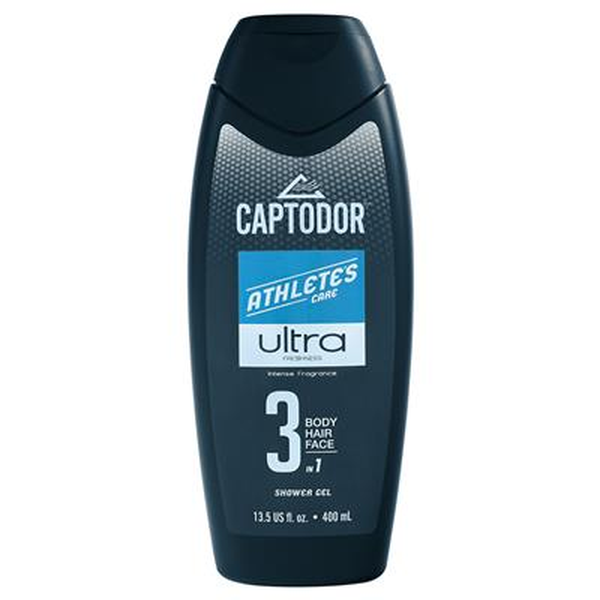 (Captodor 3 in 1 Ultra Shower Gel - 13.5oz)