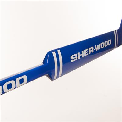 Handle and Paddle View (Sher-Wood LE GS350 Foam Core Goalie Stick)