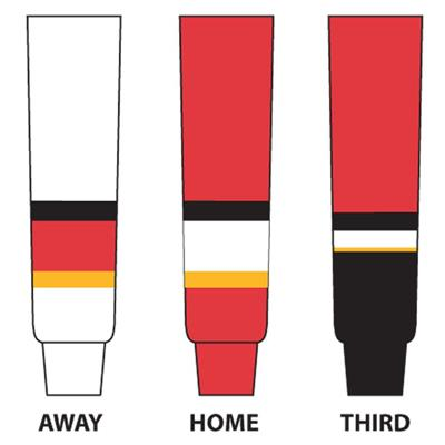 (NHL Team Hockey Socks - Calgary Flames)