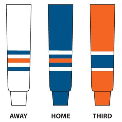 (NHL Team Hockey Socks - Edmonton Oilers - Senior)
