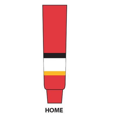 Red (NHL Team Hockey Socks - Calgary Flames)