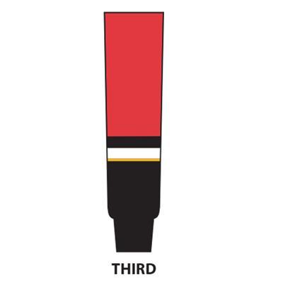 Black (NHL Team Hockey Socks - Calgary Flames)