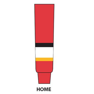 Red (NHL Team Hockey Socks - Calgary Flames - Intermediate)