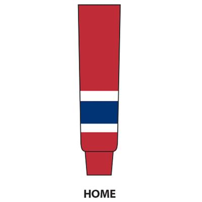 Red (NHL Team Hockey Socks - Montreal Canadiens)