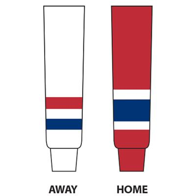 (NHL Team Hockey Socks - Montreal Canadiens - Junior)