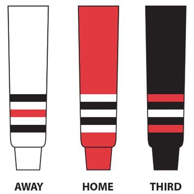 (NHL Team Hockey Socks - Chicago Blackhawks - Intermediate)