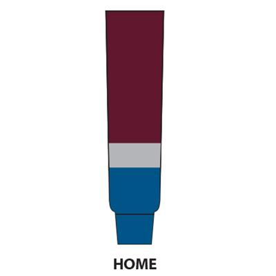 Burgundy (NHL Team Hockey Socks - Colorado Avalanche - Intermediate)