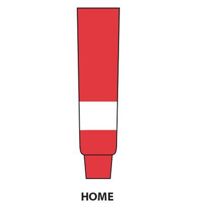 Red (NHL Team Hockey Socks - Detroit Red Wings)
