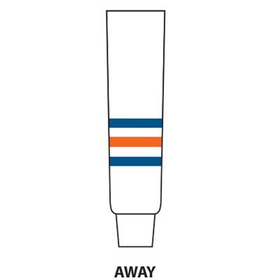 White (NHL Team Hockey Socks - Edmonton Oilers - Youth)