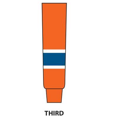 Orange (NHL Team Hockey Socks - Edmonton Oilers - Junior)