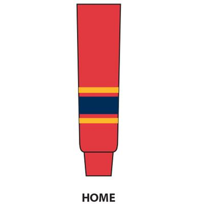 Red (NHL Team Hockey Socks - Florida Panthers)
