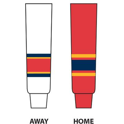 (NHL Team Hockey Socks - Florida Panthers - Intermediate)