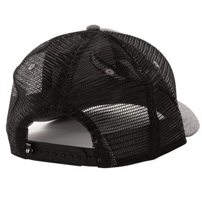 (Pure Hockey Chambray Grey/Black Mesh Back Hat)