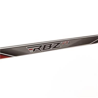 Shaft View (CCM RBZ FT1 Composite Hockey Stick)