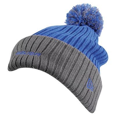 Hockey Edge Pom Knit Hat (Bauer Hockey Edge Pom Knit Hat)